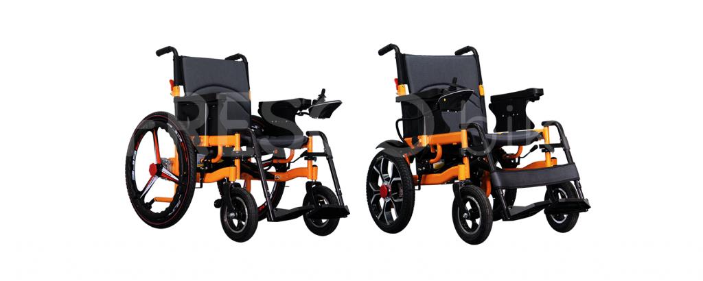 heavy-duty electric wheelchair